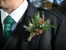 Rustic gents buttonhole