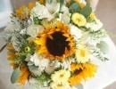 Sunflower bouquet Edinburgh