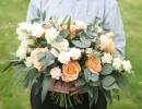 Large wide boho bouquet
