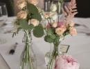 Carberry Tower wedding table centerpieces