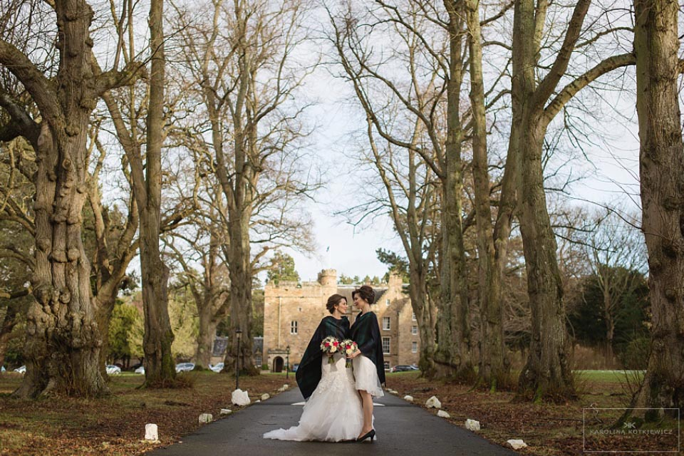 Carberry Tower wedding florist