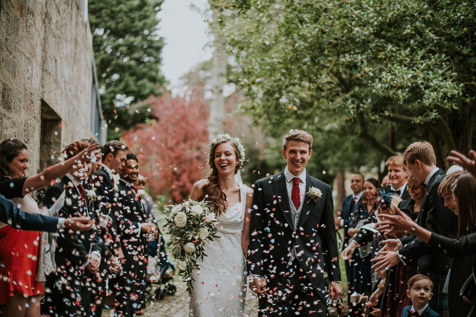 Claire Fleck Photography / Liberty Blooms Wedding Florist