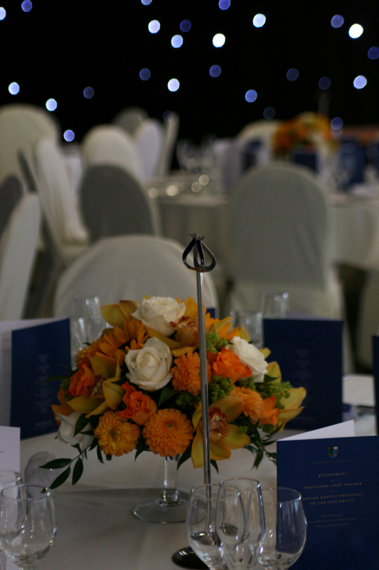 heriot Watt Table Arrangements