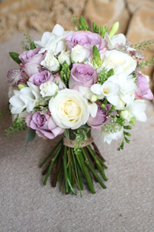 Vintage wedding flowers east lothian edinburgh