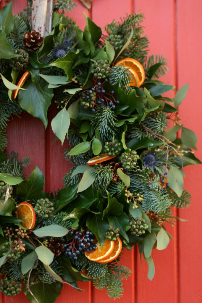 Christmas wreaths Edinburgh