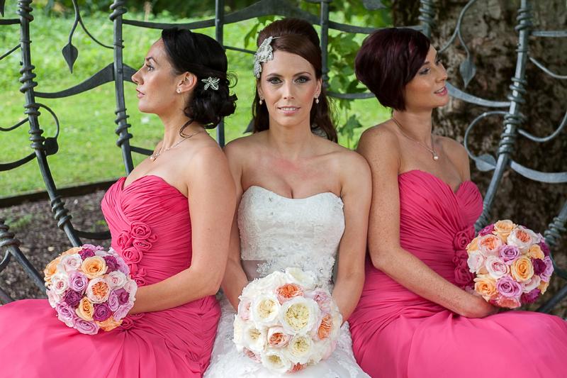 Bride and bridesmaids website