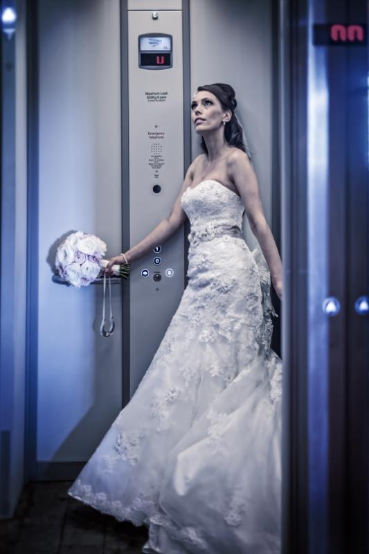 Glenskirlie Castle bride