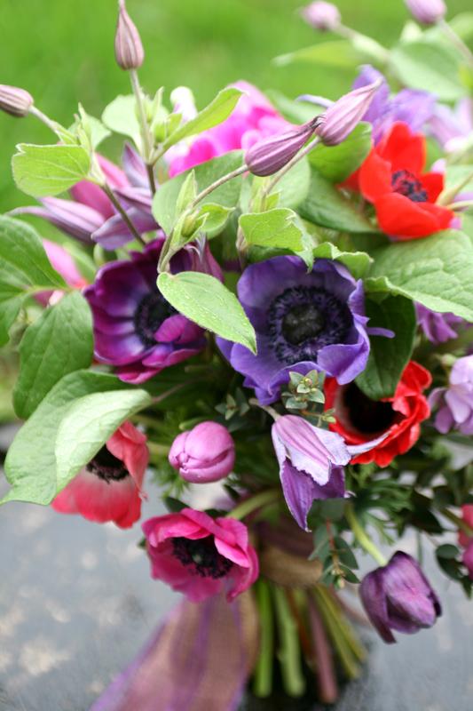 Anemone wild bouquet