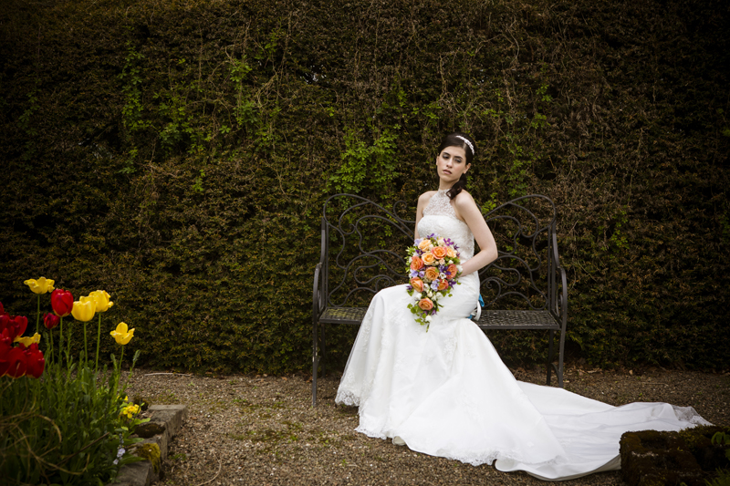 Newhall Estate wedding flowers