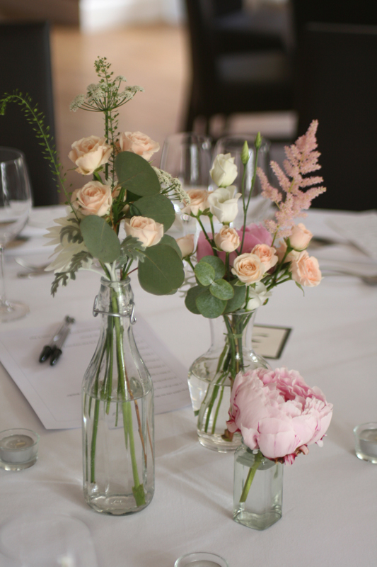 Carberry Tower wedding flowers