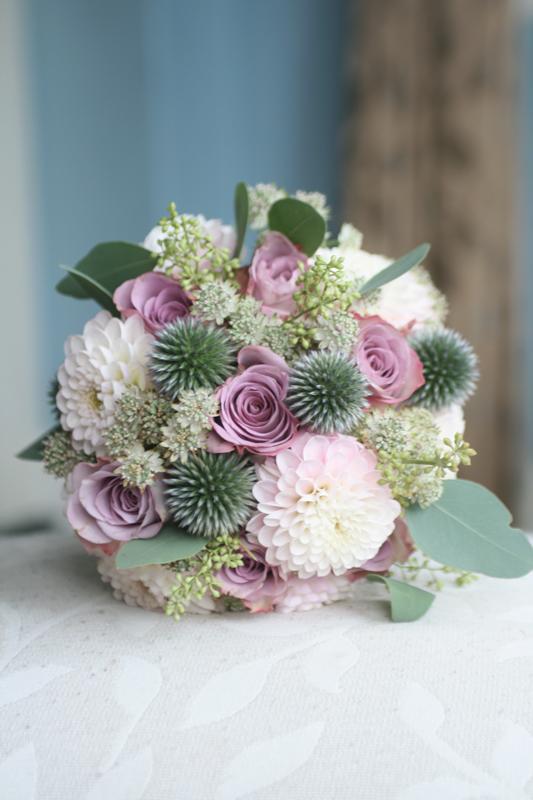 Bridesmaid bouquet East lothian