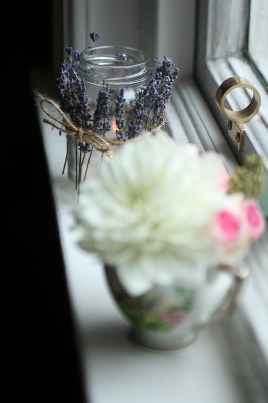 lavendar jars