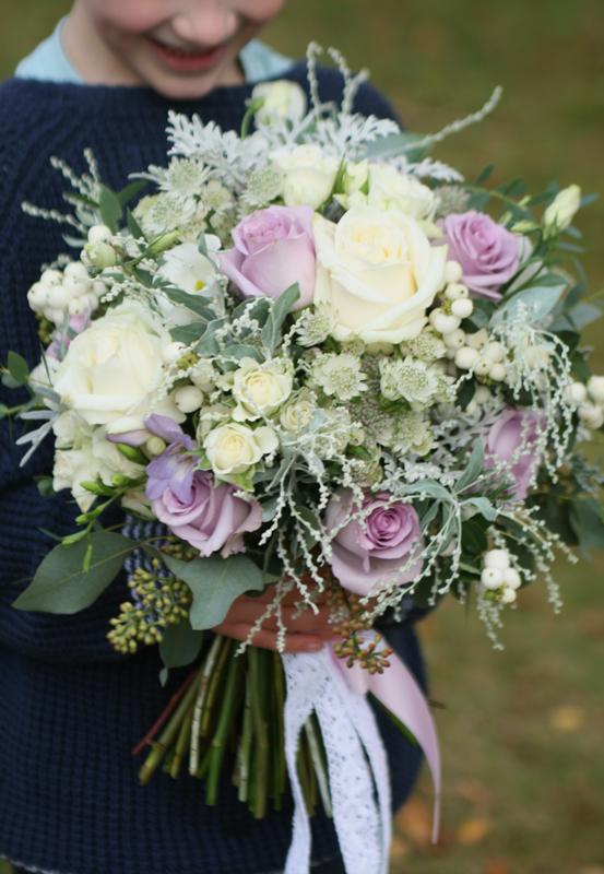 Large wedding bouquet East Lothian