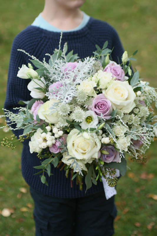 Large wild wedding bouquet