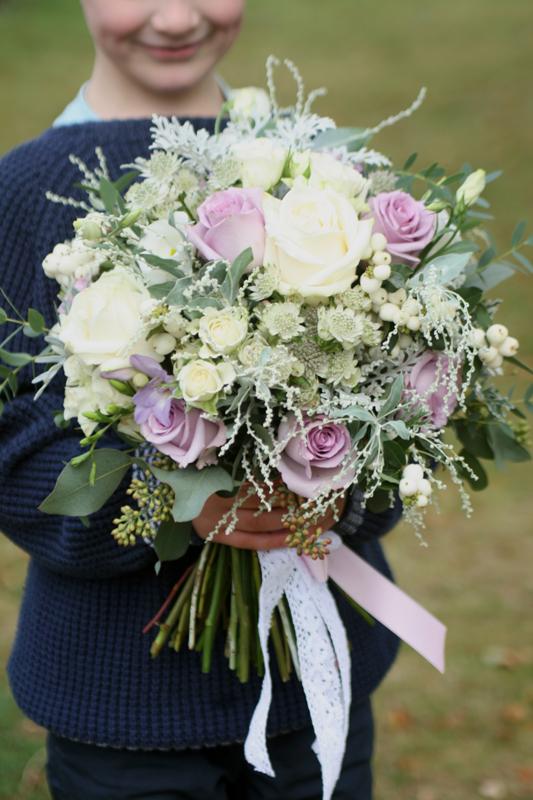 Large wedding bouquet edinburgh