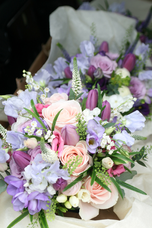 Carberry Towe wedding flowers