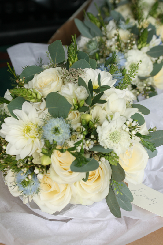 Orocco Pier wedding bouquet's