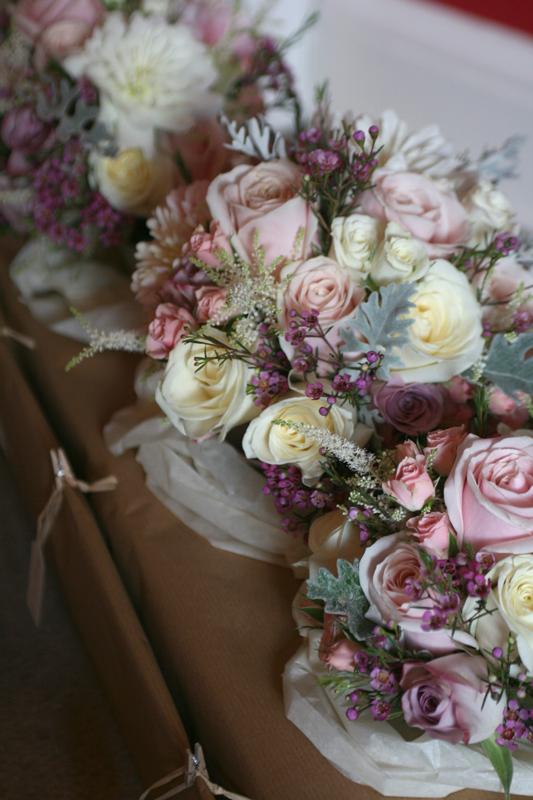 Emma's wedding bouquet's