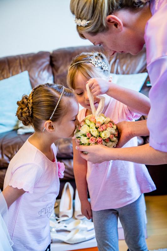 Flower girl pomander East Lothian