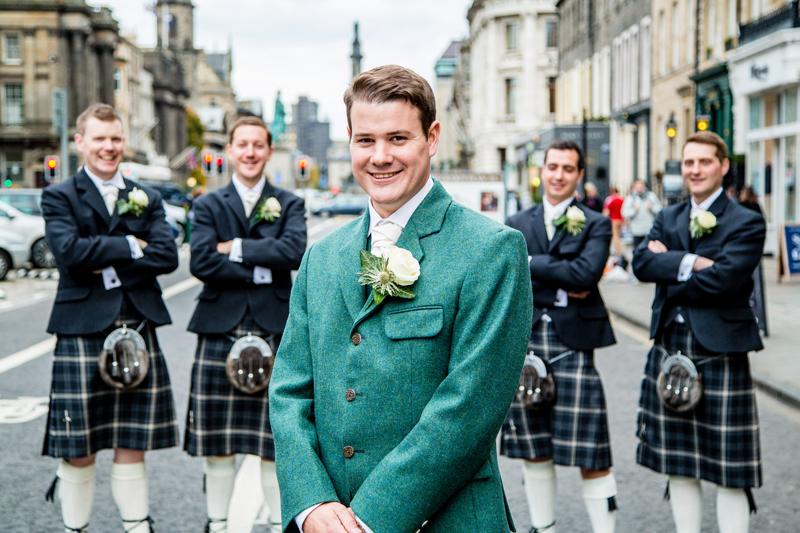 Gents Buttonholes Edinburgh