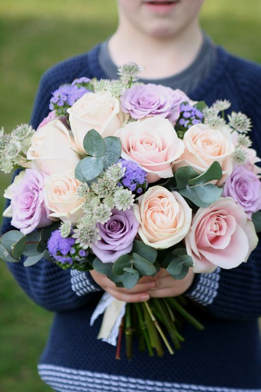 Vintage bouquet Edinburgh