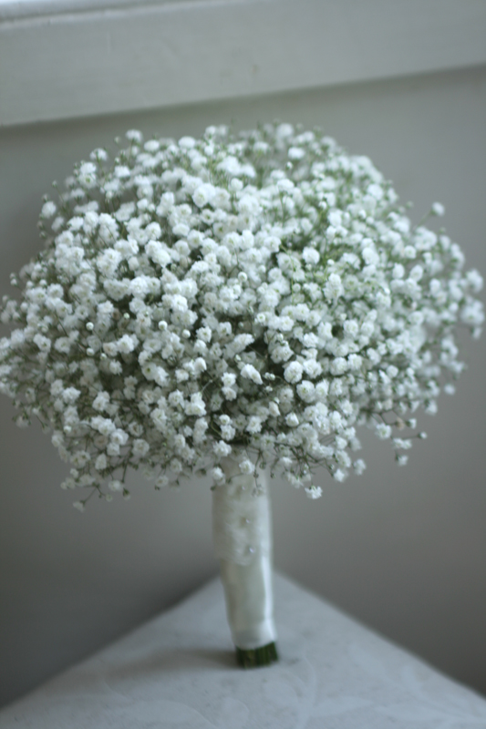 Bouquet of Gypsophila (baby's breath)