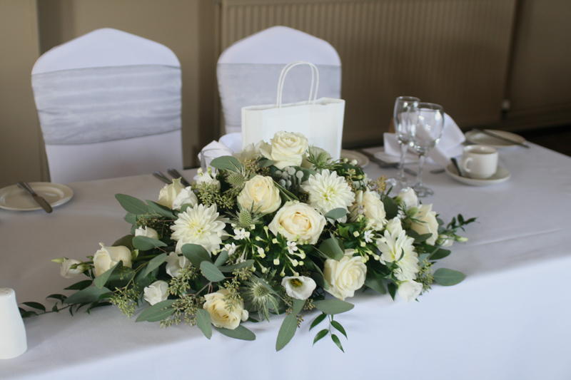 Top table arrangement Edinburgh
