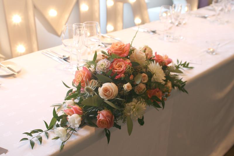 East Lothian wedding Florist
