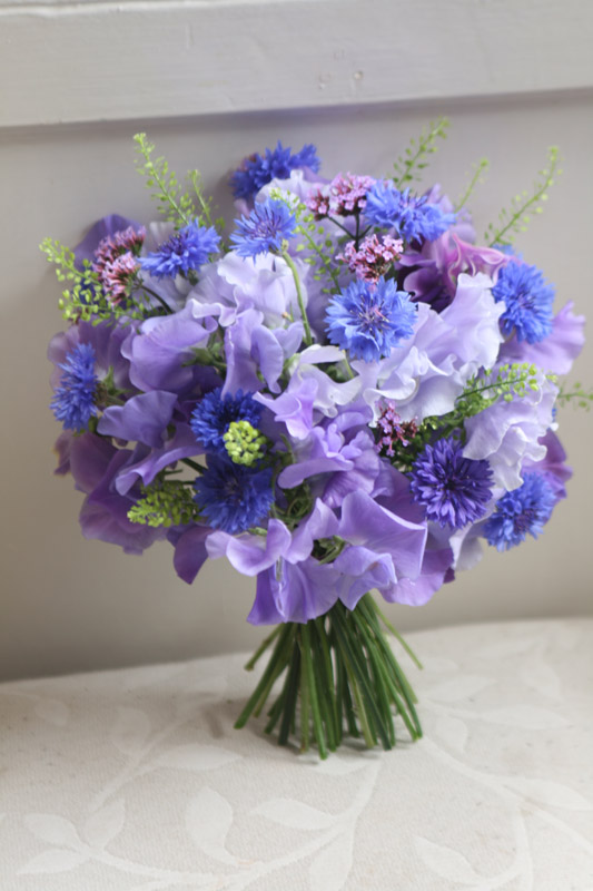 Bouquet of Sweet Peas / East Lothian florist