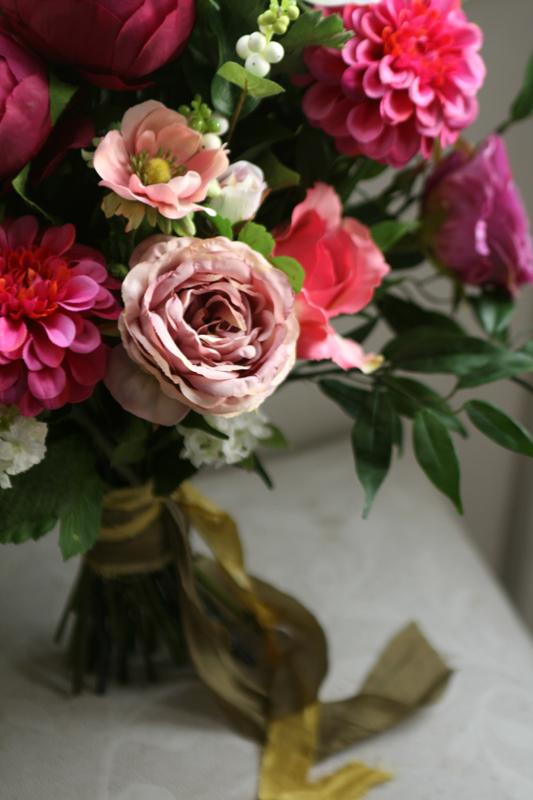 Artificial wedding flowers Edinburgh and the Lothians