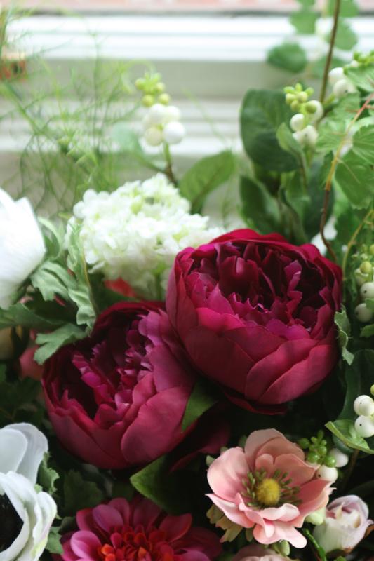 Artificial wedding flowers Edinburgh