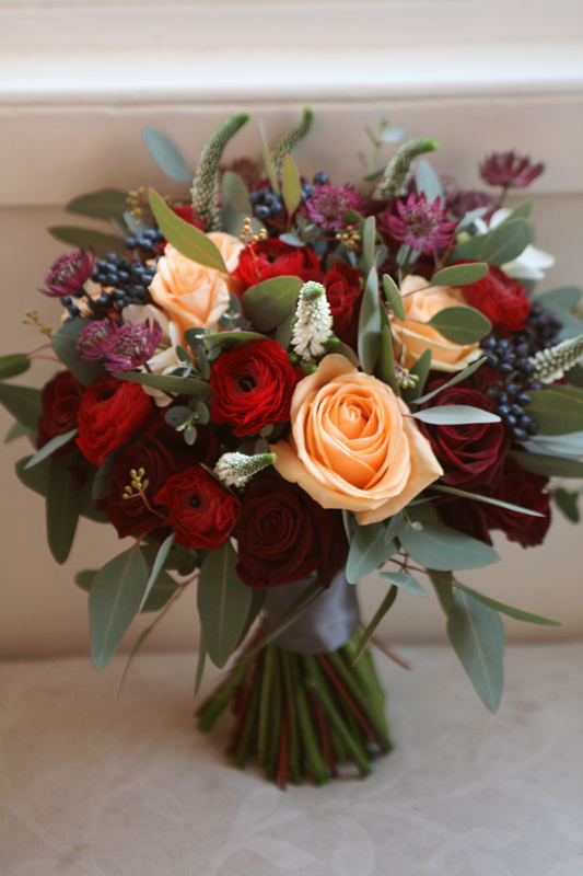 Merchants' Hall Wedding Bouquet