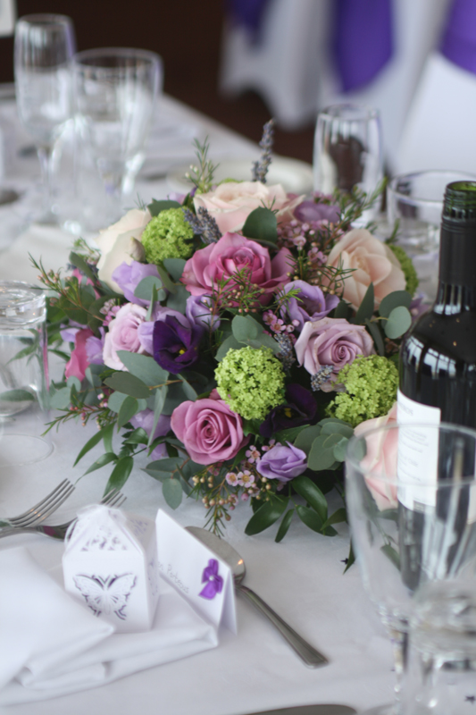 Wedding florist North Berwick