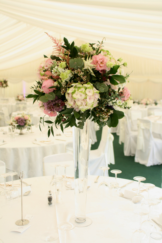 Tall centerpieces Edinburgh Florist