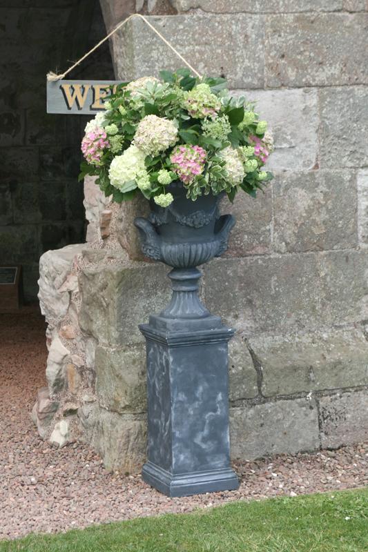Urn Pedestals for Dunglass Estate