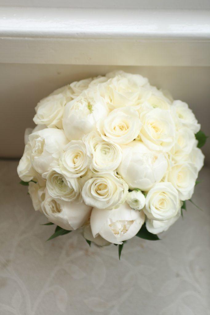White bouquet Edinburgh