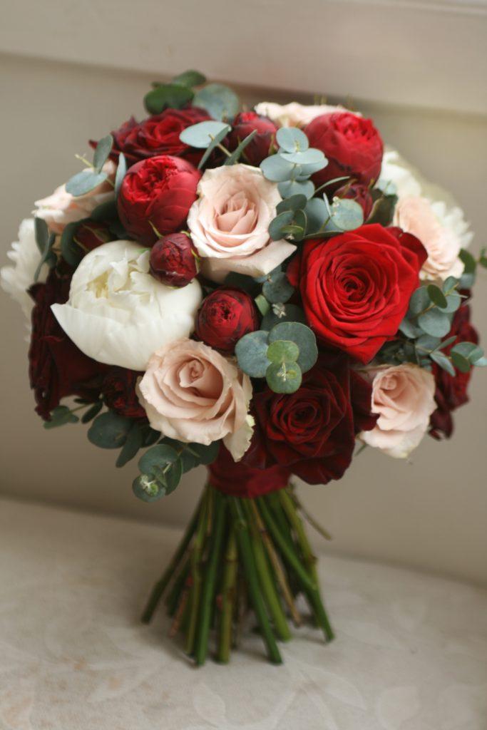 Wedding bouquet Edinburgh florist