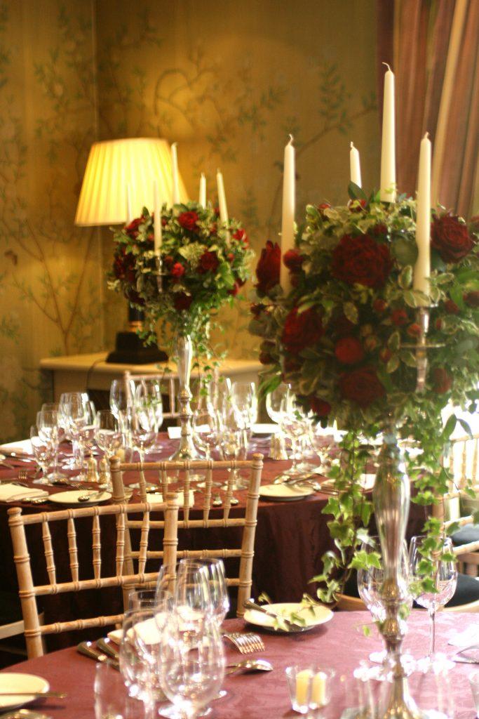 Prestonfield House Wedding Florist