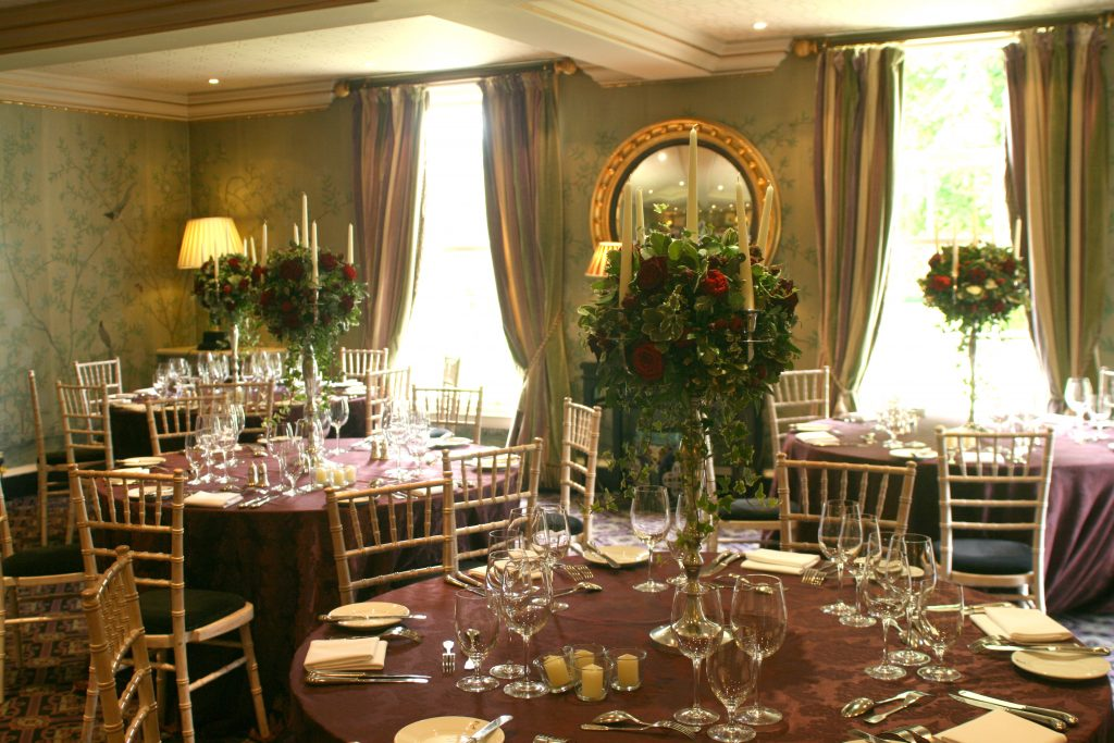 Maria Romain Prestonfield House Wedding Liberty Blooms