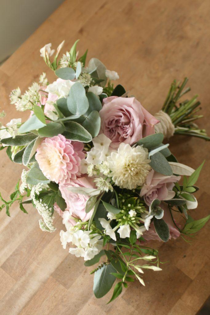 Edinburgh wedding florist
