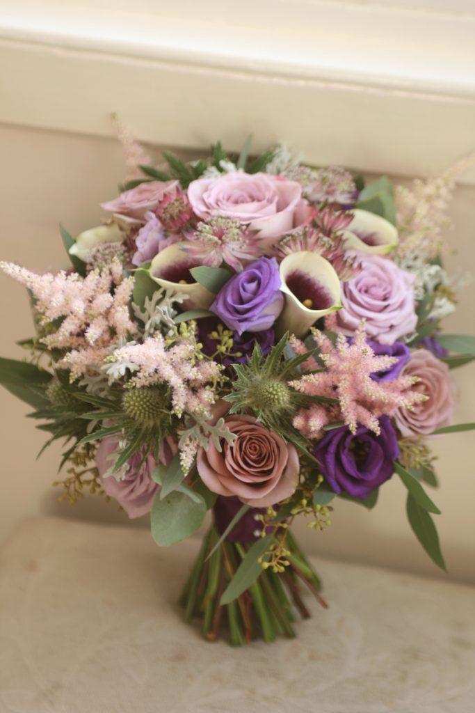 Houston House Hotel wedding flowers