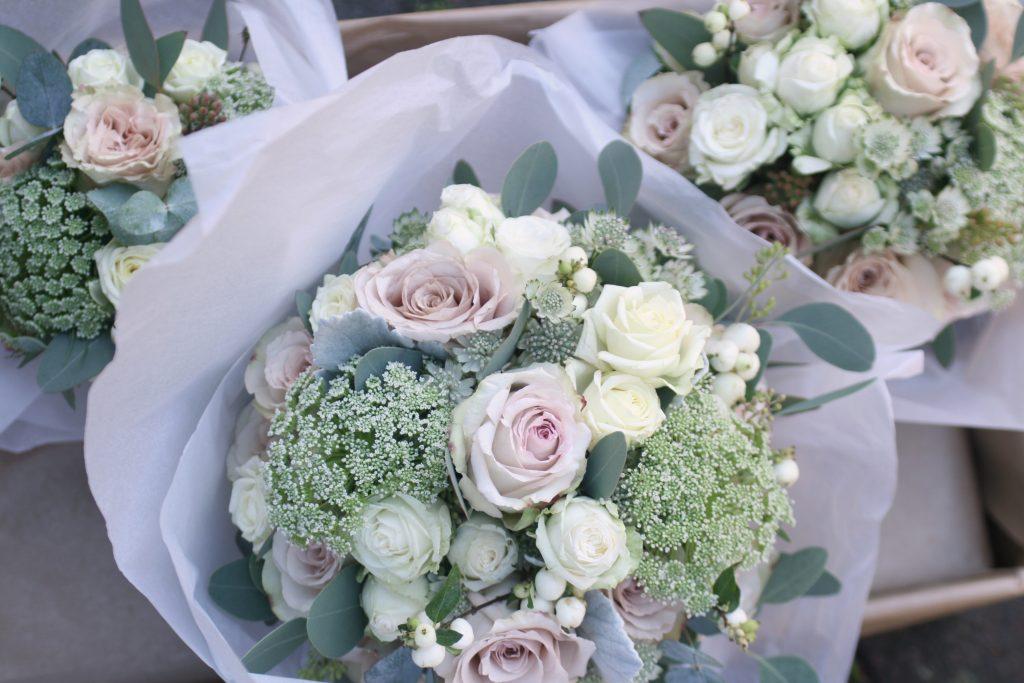 Wedding bouquets Dunglass Estate