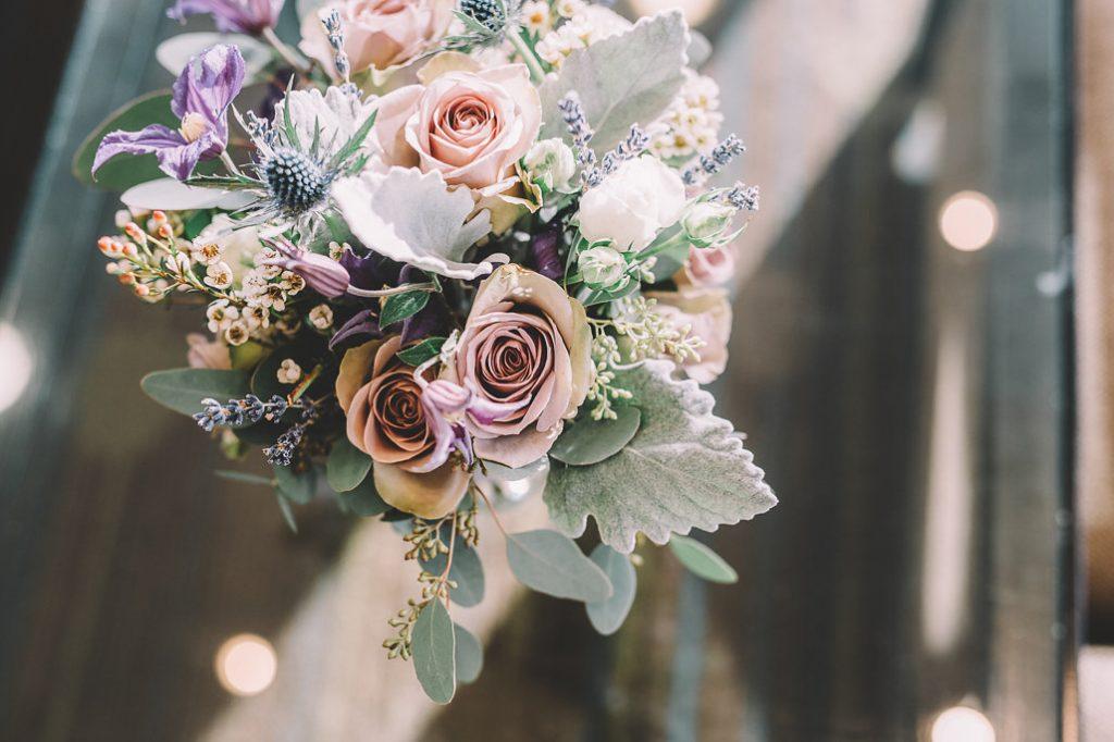 Vintage wedding florist Edinburgh