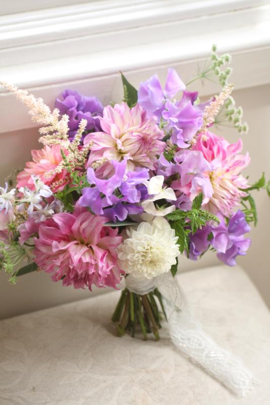 Flower grower East Lothian