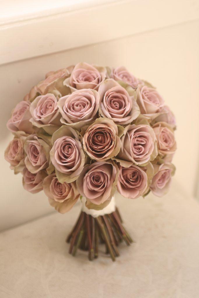 VIntage rose bouquet Edinburgh