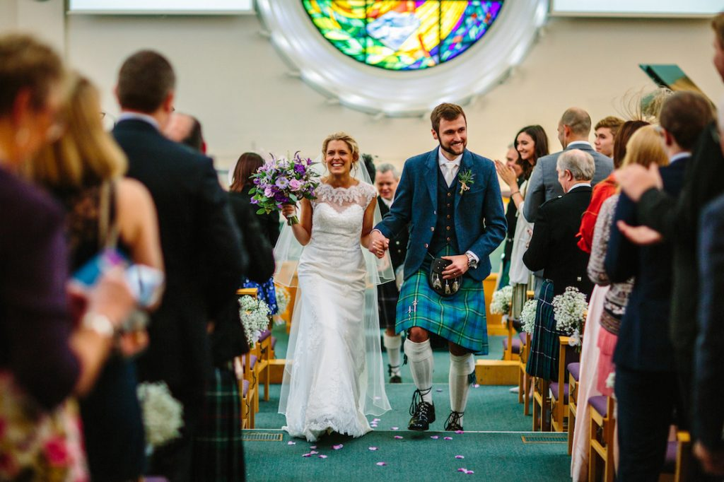 East Lothian wedding florist