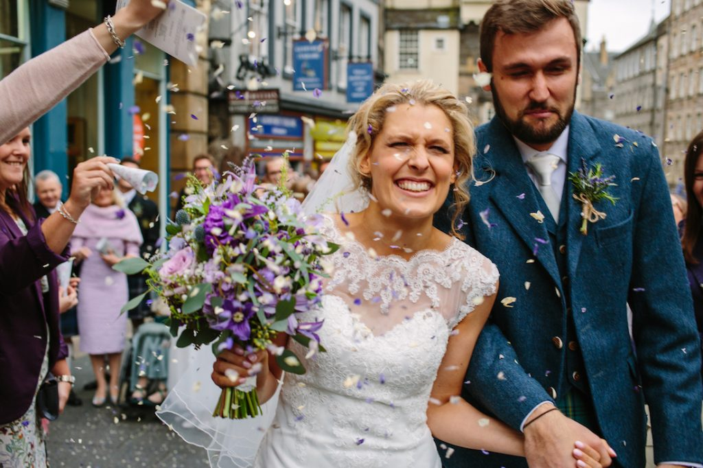 Wedding florist Edinburgh and East Lothian