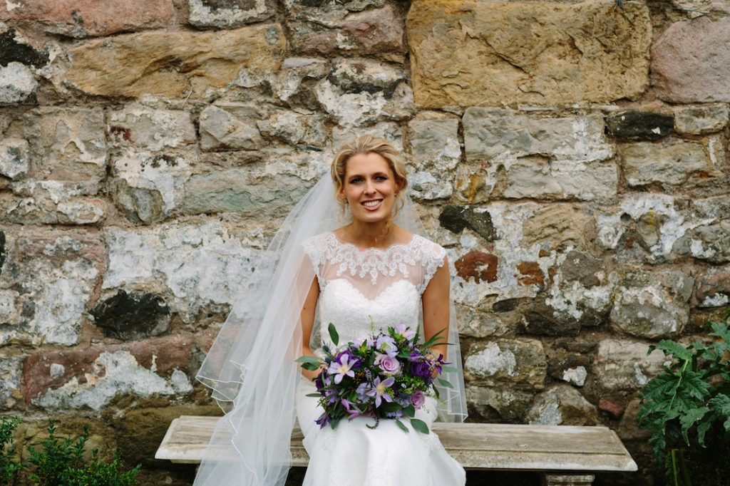 Wild wedding flowers Edinburgh
