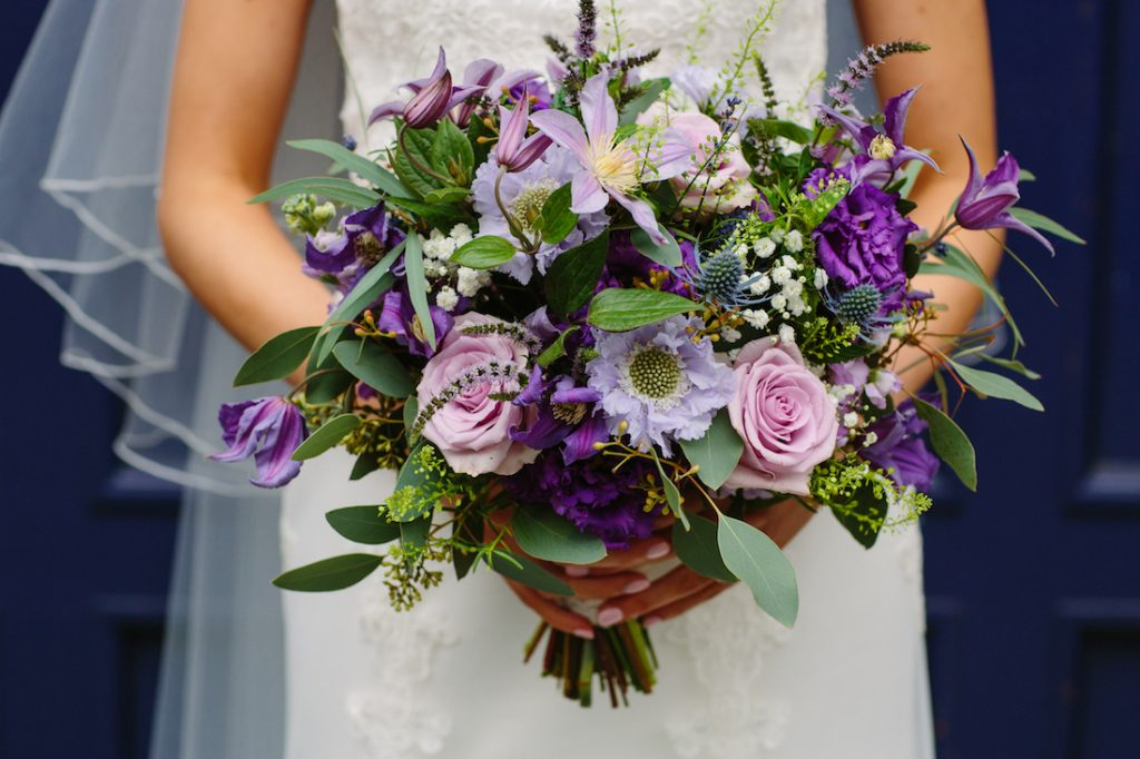 Edinburgh wedding flowers