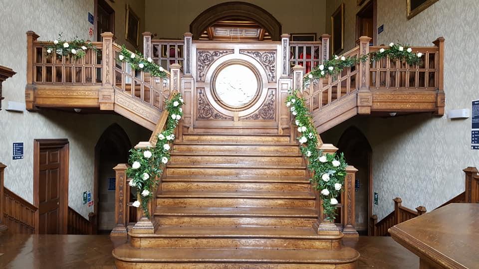 Newbattle Abbey Dalkeith wedding